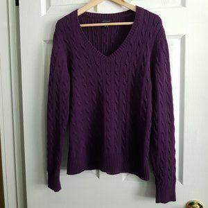 Tommy Hilfiger Knit V-Neck Sweater